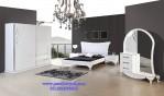 Set Tempat Tidur Minimalis Modern White Bedroom