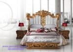 Tempat Tidur Mewah Gold Full Ukir Cleopatra