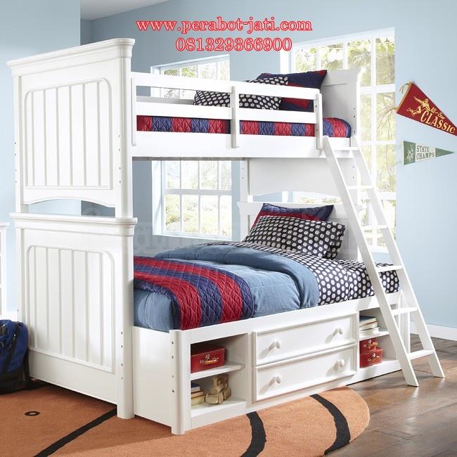 Jual Tempat Tidur Tingkat Laci Susun Untuk Anak Murah
