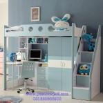 Tempat Tidur Tingkat Multi Fungsi Anak Perempuan