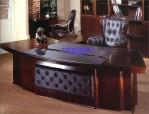 Meja Kantor Mewah Kayu Jati Untuk Direktur
