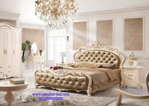 Set Kamar Tidur Ukir Mewah Model Tempat Tidur Pengantin 101