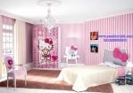 Tempat Tidur Hello Kitty Anak Perempuan Berkarater
