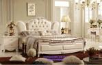 Tempat Tidur Pengantin Jok Kulit Mewah Elegan