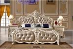Jual Tempat Tidur Pengantin Mewah Romantis White Rose