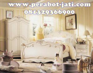 Set Kamar Tidur Anak Remaja Queen Princess Putih