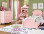 Set Tempat Tidur Pink Anak Perempuan 2016