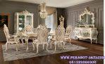 Desain Meja Makan Ukir Tarbaru Set Dining Room Luxury